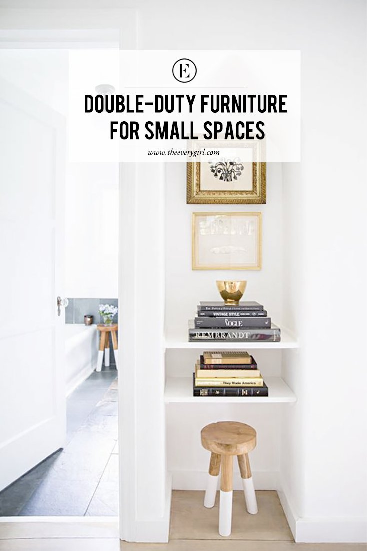 Amazing Double Duty Furniture   One Of The Major Rules Of Small Space Living Is To Look For And Invest In  Furniture Pieces That Can Serve Multiple Purposes. Small Spaces Present A  Number ...