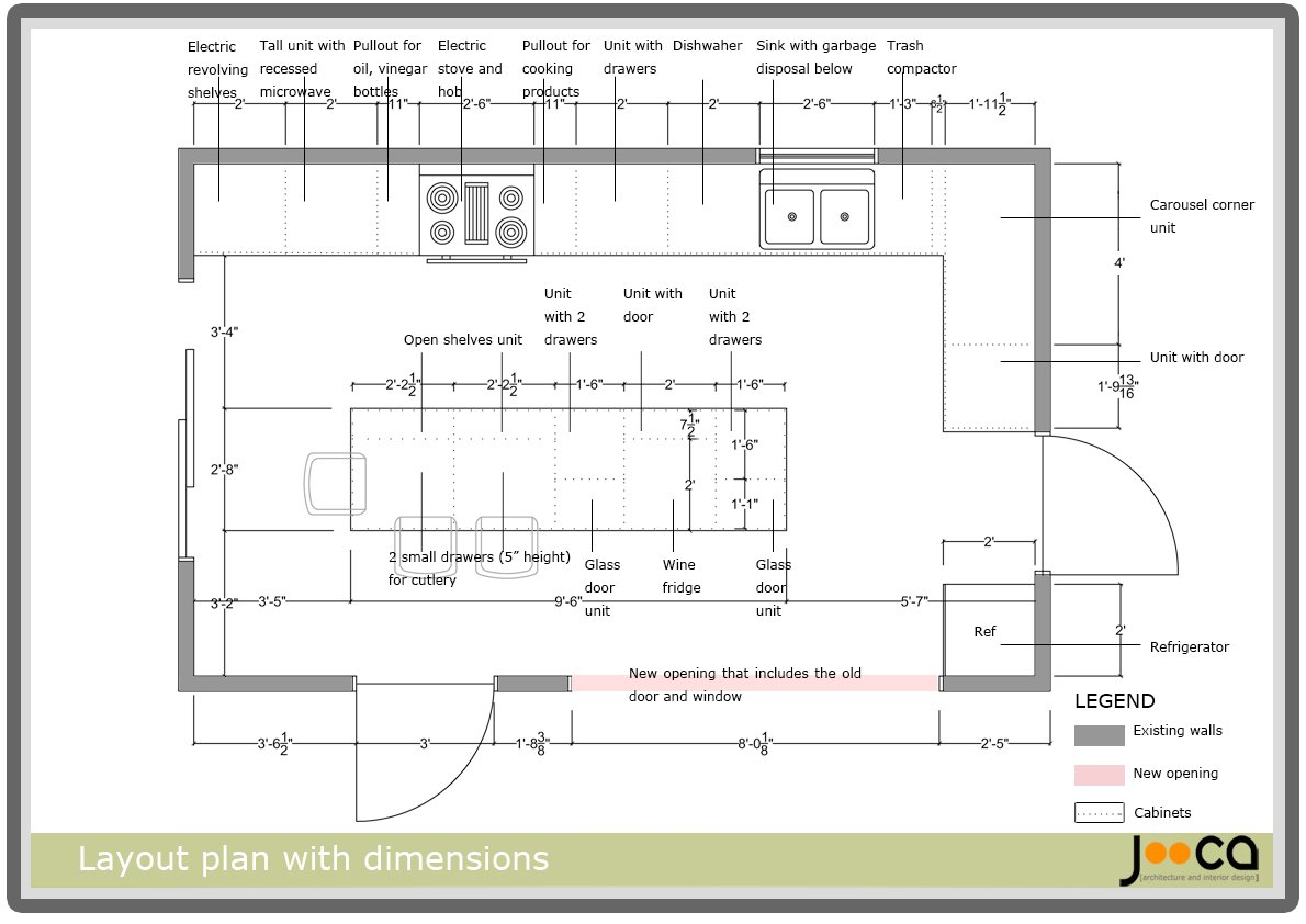 Amazing Kitchen Layouts With Dimensions Incredible Kitchen With Island Layouts Dimensions Featuring Designing Kitchen Layout And Kitchen Design Layout Rules