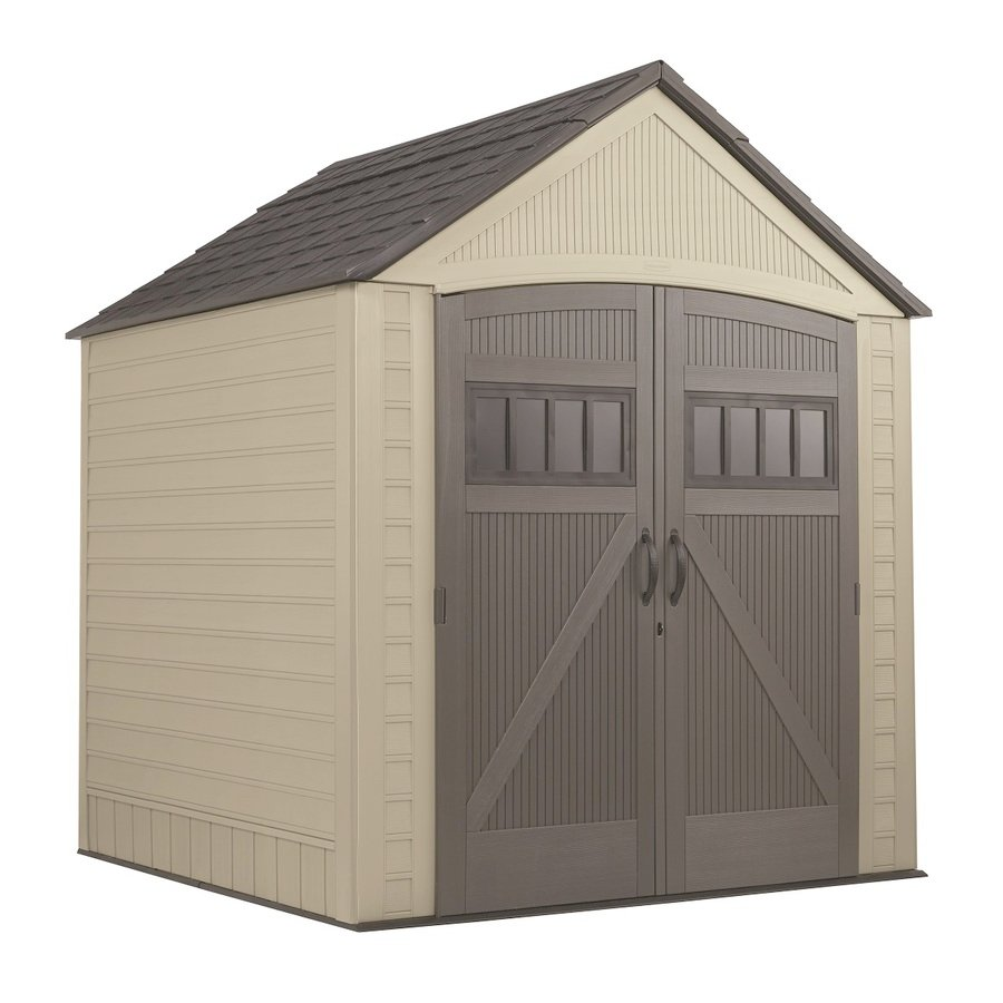 Amazing Sheds For Sale Lowes   Rubbermaid (Common: 7 Ft X 7 Ft; Actual Interior Dimensions: