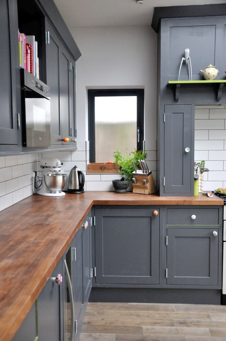 Beautiful Painting Kitchen Cabinets Black   All You Must Know About Cabinet Refacing. Black Kitchen ...