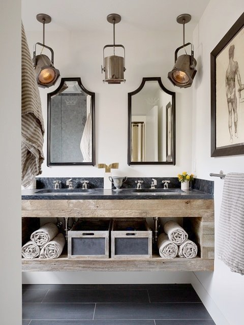 Delightful Decorating Mens Bathroom   Bathroom Decorating Ideas Masculine Designer Tips: Masculine Bathroom Design