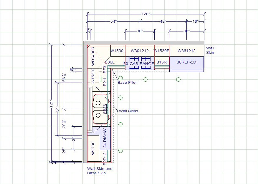Kitchen Layouts With Dimensions   10 X 12 Kitchen Layout | 10 X 10 Standard Kitchen Dimensions   Cabinet  Sense