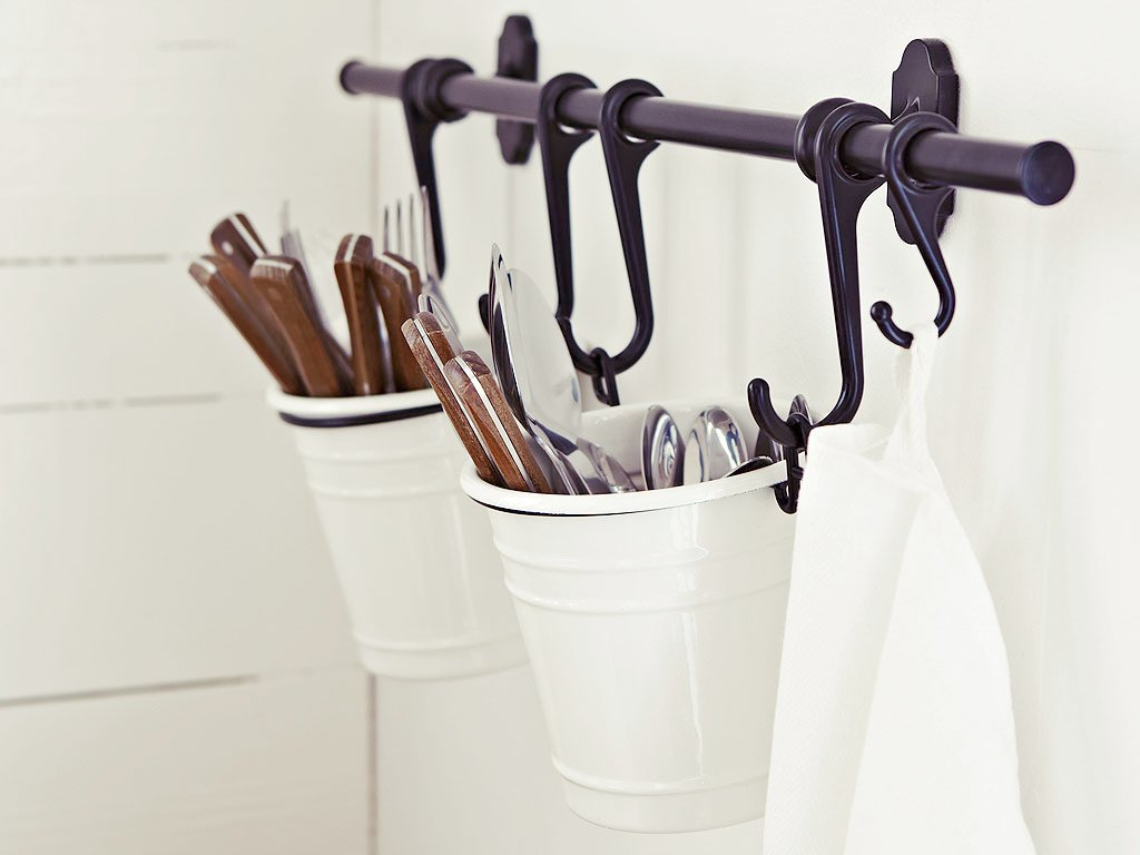 Kitchen Utensil Holder Ikea   Ikea :: Create A Hanging Utensil Holder With Items Sold At #Ikea ::