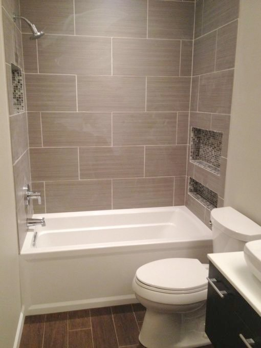 Ordinary Big Tiles In Small Bathroom   From Old/Small To New/Big, Original Bathroom From The 50u0027s With 30x36