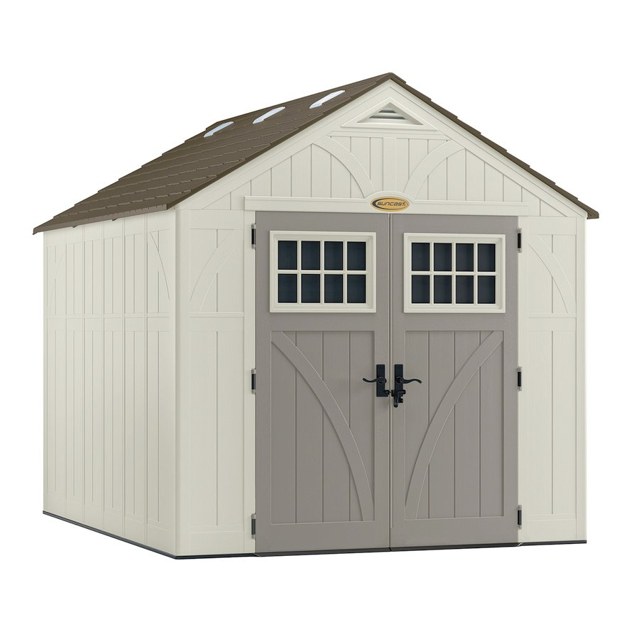 Sheds For Sale Lowes   Suncast Tremont Gable Storage Shed (Common: 8 Ft X 10 Ft;