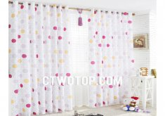 cute bedroom curtains