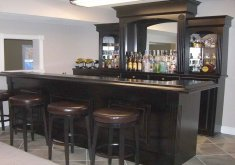 Attractive Home Bar Furniture Modern   Image Of: Best Home Bar Furniture Black