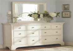 how to decorate a dresser in bedroom
