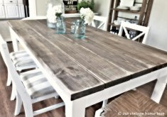 Attractive Old Kitchen Tables   Farmhouse Kitchen Tables And Chairs Distressed Farmhouse Table.