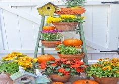 fall garden decorating ideas