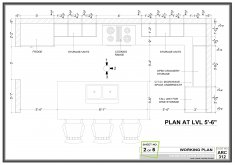 Awesome Kitchen Layouts With Dimensions One Wall Kitchen Layout Dimensions Google Search