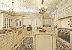 Awesome Leopard Kitchen Decor   30 Custom Luxury Kitchen Designs That Cost More Than $100,000