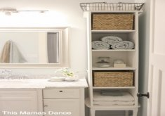Beautiful Storage In Bathroom   10+ Exquisite Linen Storage Ideas For Your Home Decor