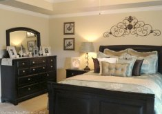 black bedroom furniture what color walls