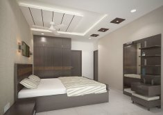 Ceiling Designs For Bedrooms   4 Bedroom Apartment At SJR Watermark: Modern Bedroom By ACE INTERIORS