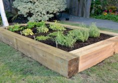 Charming How To Build A Herb Garden   Build Your Own Raised Herb Garden In LESS Than An Hour