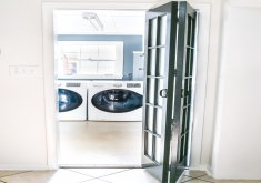 laundry room bifold doors