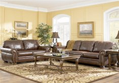 Charming Leather Furniture Decor Living Room ... Leather Sofa Living Room Ideas Simple Brown Colors And Amazing Elegant Interior With Traditional Pattern Carpet ...