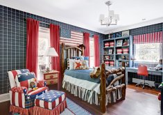 Charming Ralph Lauren Boys Bedroom   Bold Kids Bedrooms
