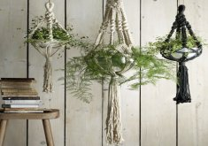 decorative indoor hanging planters