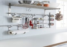 Delightful Kitchen Utensil Holder Ikea   Wall Storage.