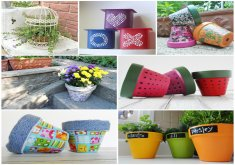 Garden Crafts To Make   Lots Of Garden Crafts That You Can Make! Create Your Own Garden Decorations  With These