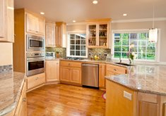 Good Kitchen Cabinets Wood Colors   Kitchen Cabinets Wood Colors 49 Contemporary Highend Natural Wood Kitchen  Designs