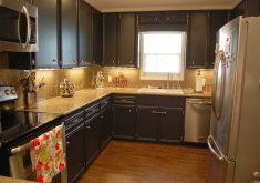 Good Painting Kitchen Cabinets Black   Painting Kitchen Cabinets | Painting Kitchen Cabinets A Dark Color   YouTube