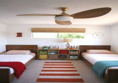 Great Ceiling Fans Kids Bedrooms   Modern Ceiling Fan Light Wood Mid Century Harbor Breeze Avian Ceiling Fan