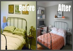 decorate bedroom cheap