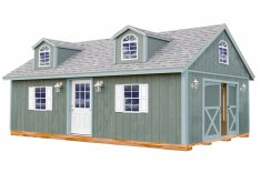 Great Sheds For Sale Lowes   Best Barns (Common: 12 Ft X 24 Ft; Interior Dimensions: