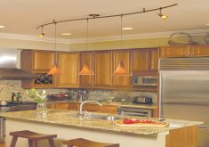 Great Track Lights In Kitchen   Kitchen Track Lighting Ideas Modern Design