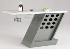 Home Bar Furniture Modern   Contemporary Bar Cabinet With Legs