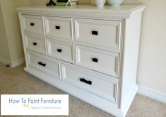how do you paint furniture