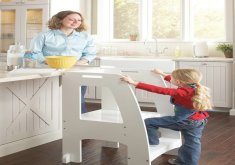 Kid Kitchen Stool   Kitchen Helper Stools For Children