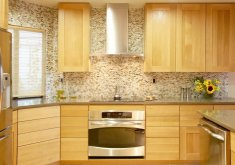 kitchen countertops with backsplash