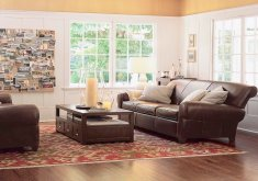 Leather Furniture Decor Living Room   Living Room Ideas With Leather Furniture Sofa Couch Set