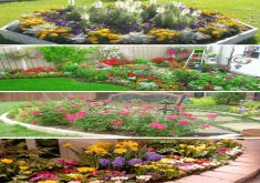 Marvelous Small Flower Garden Ideas Corner Design DIY Do It Yourself On A Budget In Alongside