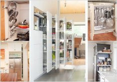 vertical kitchen storage