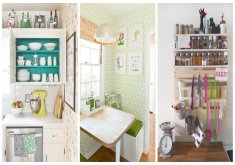 best way to organize a small kitchen
