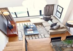 Marvelous Condo Living Room Furniture   How To Efficiently Arrange The Furniture In A Small Living Room