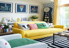 Marvelous Yellow Living Room Furniture   How To Design With And Around A Yellow Living Room Sofa