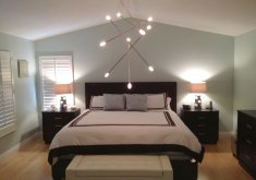 modern light fixtures for bedroom