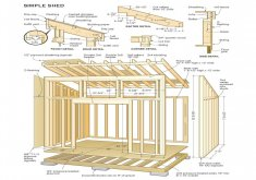 Nice Free Blueprints For 10x12 Wood Garden Shed   Free Shed Plans Building Shed Easier With Free Shed Plans My Wood Sheds Kksfebp1  (1550×1761) | Projects | Pinterest | Sheds, Shed Plans And Diy Shed