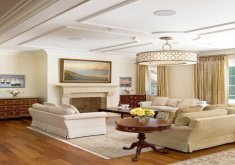 Nice Living Room Ceilings   ... Living Room With Graceful And Understated Ceiling And Lovely Soothing  Tones