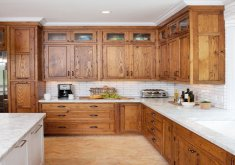 oak cabinet kitchen ideas