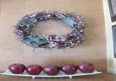 kitchen wreath ideas