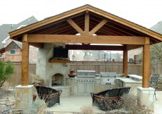Outdoor Kitchen And Patio Ideas   Best 25+ Outdoor Kitchen Patio Ideas On Pinterest | Backyard Kitchen, Outdoor  Kitchens And Outdoor Grill Area