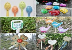 Superb Garden Crafts To Make   Lots Of Garden Crafts That You Can Make! Create Your Own Garden Decorations  With These