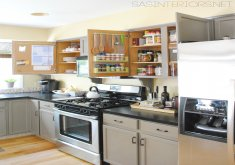 ideas for inside kitchen cabinets